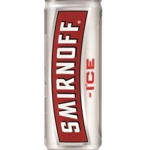 Smirnoff ice blikje vodka 250ml