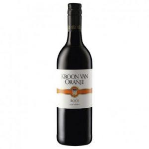 Kroon van Oranje wijn rood