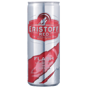 Vodka eristoff Red flash