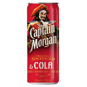 Captain Morgan Rum & cola